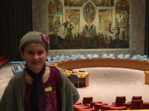 maya at the UN